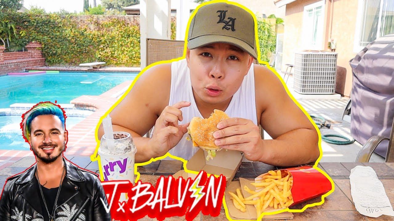J Balvin follows Travis Scott with his own McDonald's meal