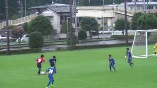 2016.7.9 横浜ジュニオールJY U-13 ゴールシーン