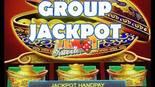 💰 JACKPOT HANDPAY 💰 HIGH LIMIT GROUP SLOT PLAY | DANCING IN ARIZONA