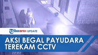 Begal Payudara Di Depok Terekam Kamera CCTV Saat Beraksi, Incar Wanita Yang Baru Pulang Kerja