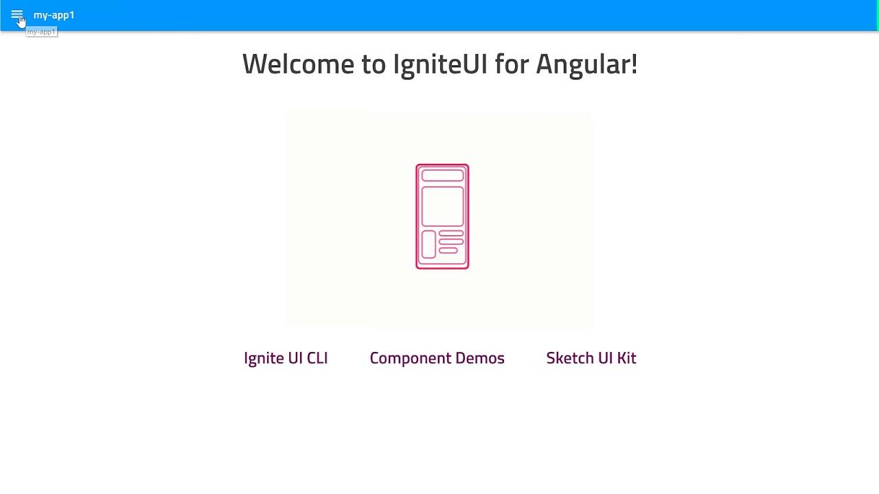 Video tutorials for Indigo Design - Native Angular   Ignite