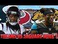 Texans vs Jaguars Week 7 Prediction!