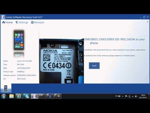Product type, code, IMEI, and firmware revision number explained Lumia 730