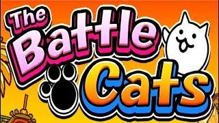 BATTLE CATS -  Мультик игра для детей про котиков БОЕВЫЕ КОТЫ