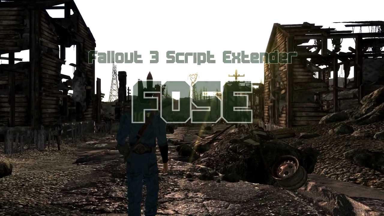 Fose Fallout 3 скачать