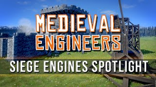 Medieval Engineers - Trebuchet, Scattershot, Battering Ram!