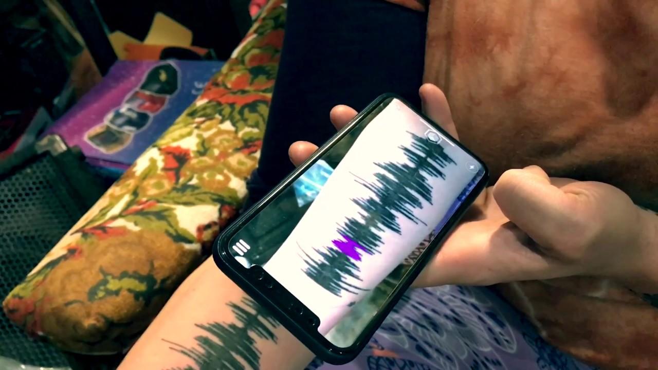 Cutest Soundwave Tattoo Ever