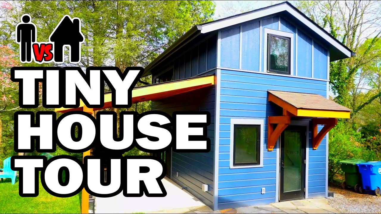 Tiny House Tour Bloopers Man Vs House 9 Youtube