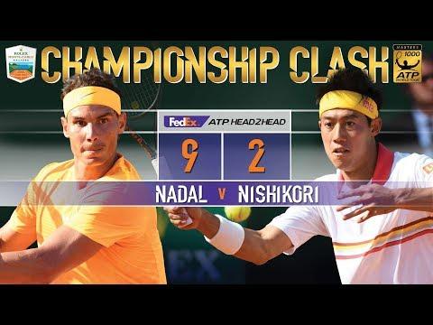 Nadal, Nishikori Battle For Monte-Carlo 2018 Title