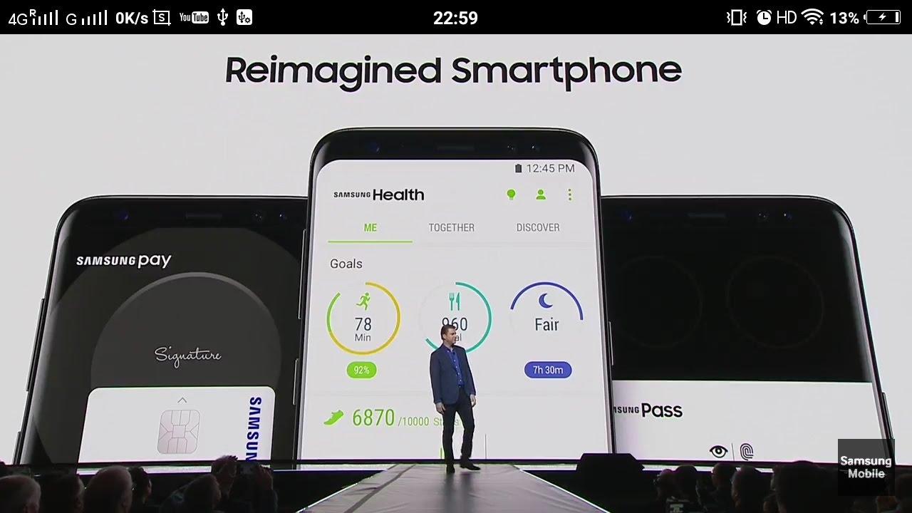 Samsung Health In Galaxy S8