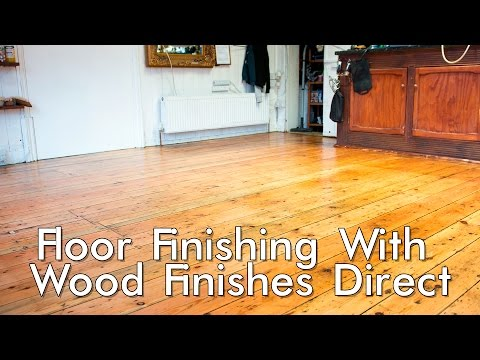 Floor Finishing With Wood Finishes Direct