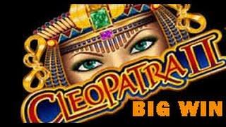 Cleopatra II (IGT) - BIG WIN W/ Re-trigger!