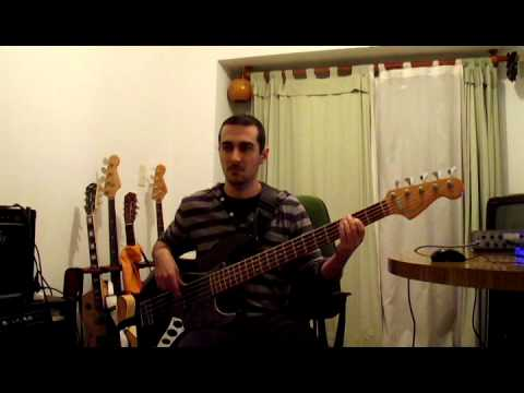 Sir Duke - Stevie Wonder- Bass cover Por Pablo Ielasi