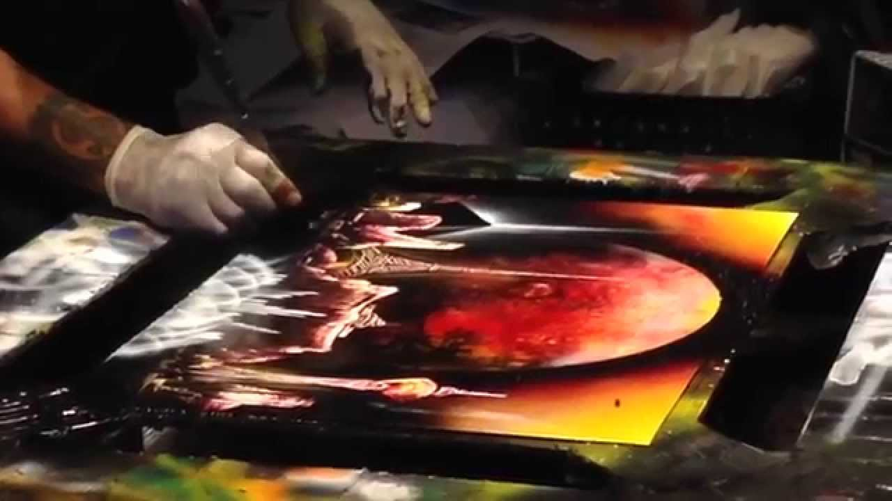 Awesome Spray Paint Art Youtube