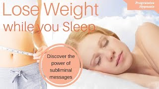 Hypnosis for Weight Loss - Lose Weight While You Sleep ★ Fast & Easy Weight Loss
