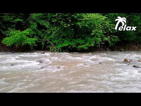 Звуки Природы  -  Горная Река  -  Антистресс