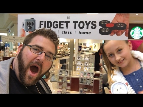 Thumbnail: RARE FIDGET SPINNER MOTHERLOAD! BIRTHDAY GIRL SHOPPING AND TOY UNBOXING!