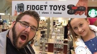 RARE FIDGET SPINNER MOTHERLOAD! BIRTHDAY GIRL SHOPPING AND TOY UNBOXING!