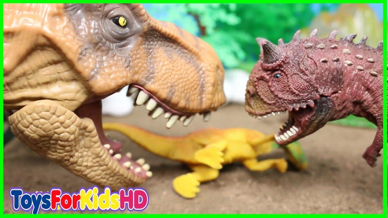 Videos Toysforkidshd Luchas Para Mejores Las Juguete6 Dinosaurios De Niños LqVpGUjSzM