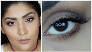 Ultra matte Kylie Jenner Glam Nude Makeup Tutorial | Affordable products