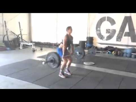 Clean e jerk kg donna garage gym roma youtube