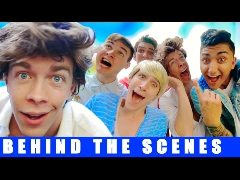 One Direction This Is Us - The Musical BEHIND THE SCENES