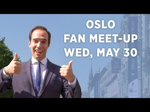Announcement: Oslo Fan Meet-Up May 30