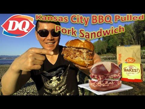 Dairy Queen Kansas City BBQ Pulled Pork Sandwich