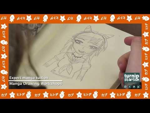 Manga Drawing Workshops Turnip Starfish