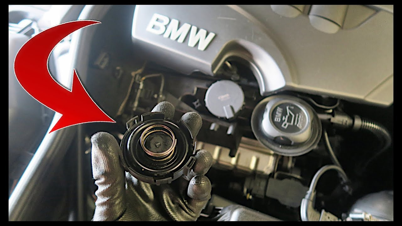 Bmw Crankcase Breather Valve Replacement Ccv Pcv Removal Youtube
