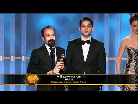 A Separation Wins Best Foreign Language Film  Golden Globes 2012