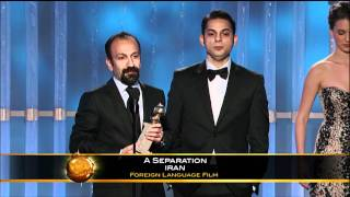 A Separation Wins Best Foreign Language Film - Golden Globes 2012