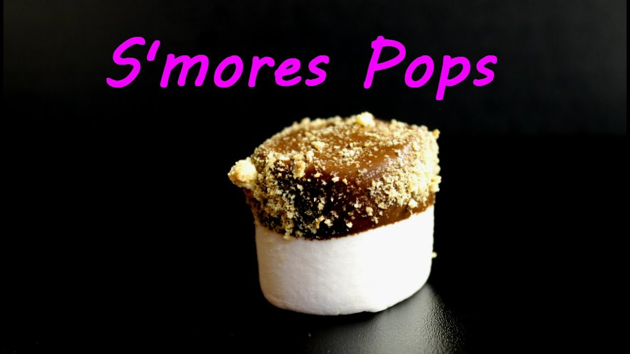 mores Pops - Easy Scouts Snack - YouTube