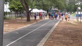 Addison races her mom