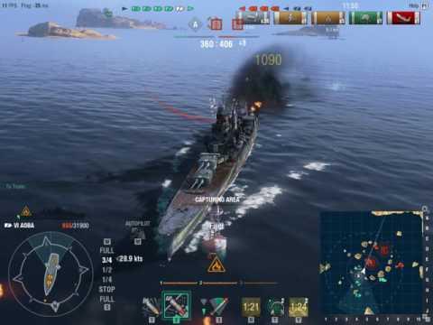 Ranked Battle: CA Chokai