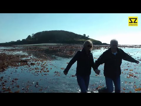 Looe Island / St George's Island Walk (Lowest Tide for 200 y
