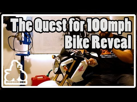 The Quest for 100mph - Bike Reveal
