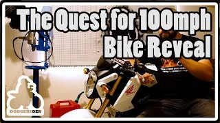The Quest for 100mph - Bike Reveal thumbnail