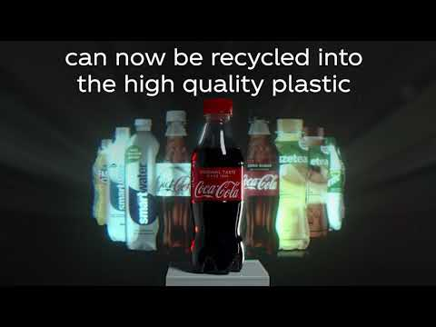 Coca-Cola Introduces World's First Bottle Made From Ocean Plastic Waste