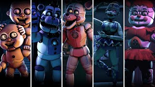 Download lagu FNaF Sister Location Voice Lines animated