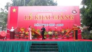 [Khai giảng FTU 2015-2016] Thơ tình của núi - Thầy Nguyễn Ngọc Tân & Cẩm Trang