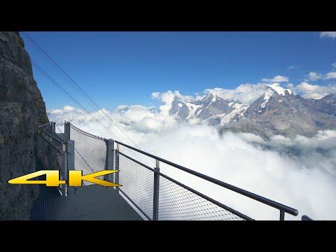 Birg Thrill Walk & Skyline Walk Switzerland 4K 🇨🇭