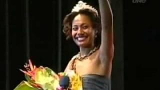 Miss south Pacific Fiji 2009 Tagata Pasifika TVNZ 3 Dec