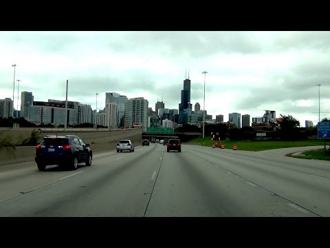 Chicago, Illinois - I-90 - I-94 EB - Northwest Suburbs to Chinatown