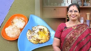 Masala Bulls Eye | Mallika Badrinath Indian Recipes | Egg Recipes