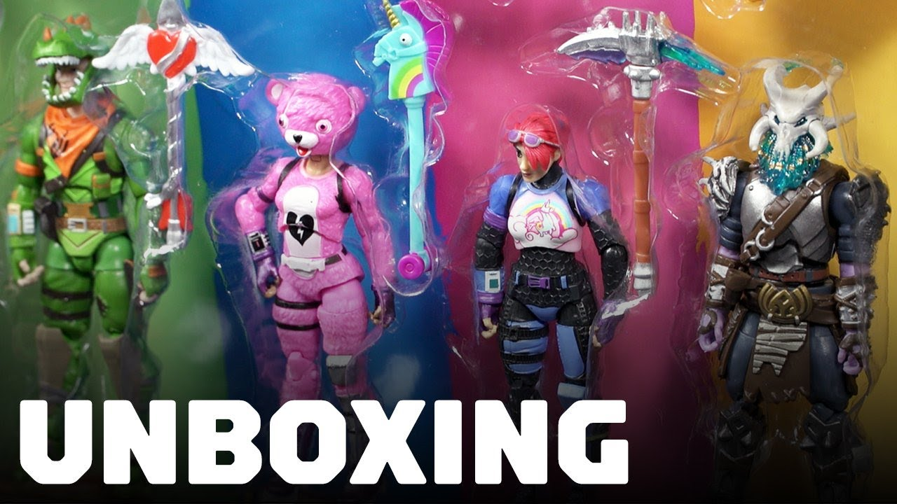 Unboxing New Fortnite Toys