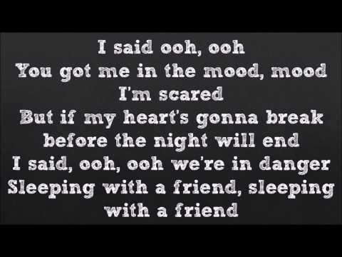 Sleeping With A FriendNeon Trees Official Lyrics Video