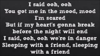 Sleeping With A Friend   Neon Trees Official Lyrics Video