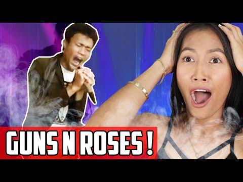 Dens Gonjalez – Sweet Child O Mine   Denden Transforms Into Axl Rose Of Guns N Roses!