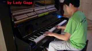 Lady Gaga - Bad Romance (Piano Cover) Music Video